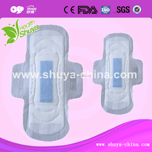 OEM Active Oxygen and Anion Sanitary Napkin Factory