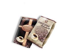 2015 hot sale Aluminum foil coffee bean paking pouch