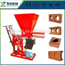 ECO BRAVA máquinas de moldeo por enclavamiento hueco máquina de ladrillos de arcilla / cemento / fábrica de ladrillos de arcilla