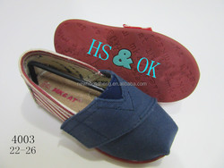 Rubber Outsole Material and Canvas cheap soft baby shoes Upper Material cheap soft baby shoes