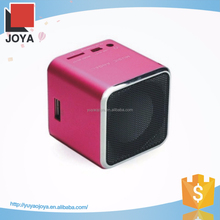 Cute design made in China digital speaker for smart phone 2.1 speaker support usb/sd card/ fm