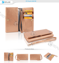 Promotional! purse wallet leather case for samsung galaxy s4 i9500