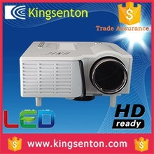 video projector mobile phone 50 ansi lumens 320*240 resolution with HDMI, VGA, Headset, AV in, USB, SD