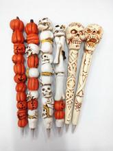 Halloween ballpoint pen skull /ghost /witch/pumkin pen