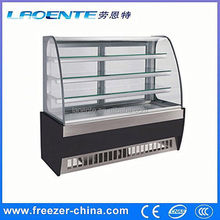 fashion commercial display cake refrigerator