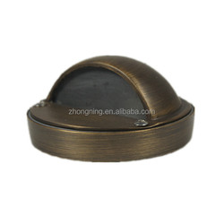 Outdoor copper led step light