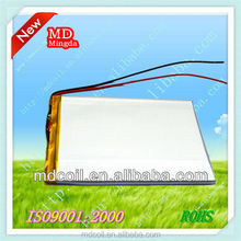 2015 High quality li-ion battery 3.7v 3000mah for tablet PC