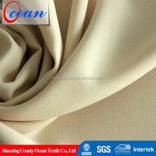 Ocean company free sample 100%polyester woven technics stretch wholesale fabrics