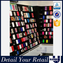 new design fashion retail shop mobile accessories display stand