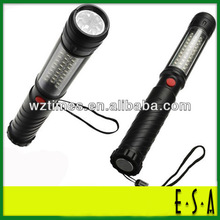 2015 Hot sell 32+5 led work light, 37 led LED maintenance light, magnet hook tents lamp G05A007