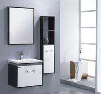 water-resistant sliding door bathroom mirror cabinet set
