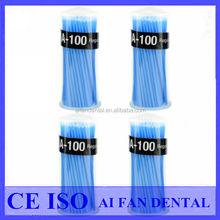 [ AiFan Dental ] high quality Oral Hygiene MA-100 Disposable Micro Applicator Tips Dental Micro Brush Applicator