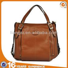 Leather cheap ladies big handbags 2014