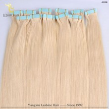 Alibaba Manufacturer Soft And Free Hair Products Super Glue Perfect Color coloured tape in hair extensions