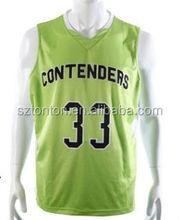 2014 new style china cheap basketball wear