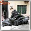 China professional wholesale landscaping rock fake fiberglass fake slate rock prices