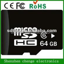 Shenzhen factory 64gb micro sd card,micro sd card 64gb ,tf memory card 64gb