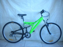 "Mountain bike 26"" dual suspension"