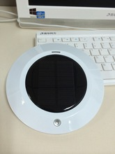 BMN909-4 White 2015 new product solar Ionizer negative ion car air purifier