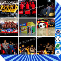 6 Seats/9 Seats/12 Seats Hydraulic/Electric Theme Park 7d cinema For Sale