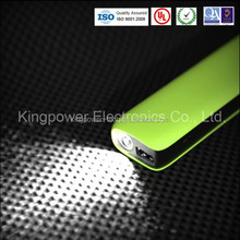 Portable Mobile Power Bank 10400mAh with High-Light falsh lamp for Travel in Dark