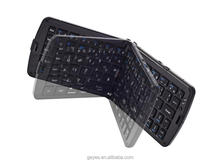 Portable folding bluetooth wireless keyboard for iPhone 6S, For samsung mini Bluetooth keyboard
