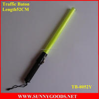 Multipurpose Camping wand/ yellow Traffic light Baton/52cm LED Flashlight traffic baton
