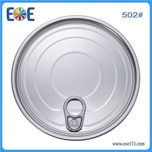 Best price 502# 126.5mm tinplate easy open cap for processed food