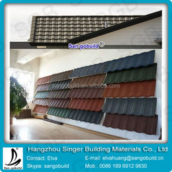 Stone Coated Metal Roofing Tile Price Classical Tile( 6 waves/7waves)