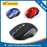 2015 new design coreless mouse Wireless Optical Mouse 6D Blue Mice/wireless mouse