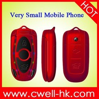 Newest small sizr colorful quad band GSM flip phone