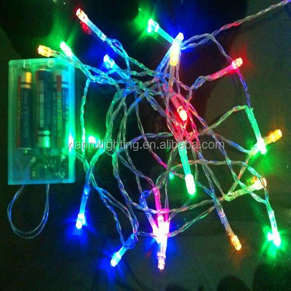 Holiday Lighting Christmas Decoration Led String Lights Battery Operated - Buy Led String Lights ...