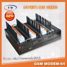 New casing!SMS modem/ 3Gmodem for bulk sms 64 port/gsm modem 64 sim card slots