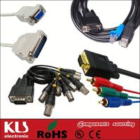 Good quality rca male to vga female cables UL CE ROHS 181 KLS