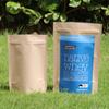 Cheap price food packing kraft paper bag wiht window and ziplock