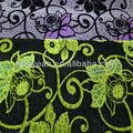 el patrón de flores de acrílico sofá de poliéster