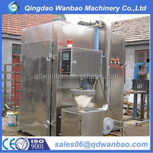 Electric automatic meat smoking oven / oven for making smoked fish,chicken,meat,sausage,pork,salami,food