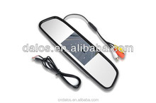 High quality and cheap special anti-glare mirror with perfect visibility 4.3 inch rearview mirror monitor for all car