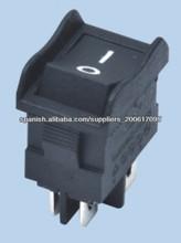 Interruptor (Switch) de balancín, de 6/10 Amperes, 250/125 Vca