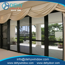 Brand new single glazed interior aluminum windows sound proof and weather proof for Villa House