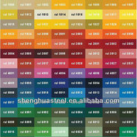Factory!Yiwu GI/PPGI Architectural Roof Shingle Colors
