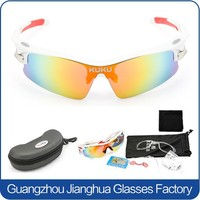 2015 summer new brand TR90 sports bicycle glasses eyewear bike sunglasses set