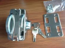 Cristal centra cerradura de la puerta con claves JHD-410