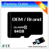 Factory Promotion 64gb micro memory sd card wholesale