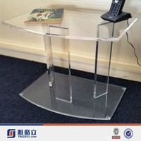 perspex side table, table stand for mobile phone / acrylic end table