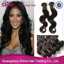 Hot sale Unprocessed no tangle no shedding brazilian body wave cheap brazilian hair weaving