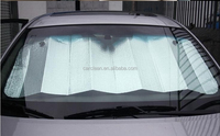 Foldable Car Auto Front Rear Windshield Sunshade can print your LOGO