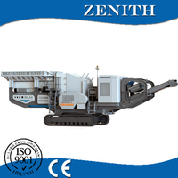 Latest Technology quality mobile crusher for construction material