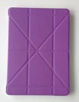 Solid Pattern Design New Magic Standing Folio Smart Tablet PU Leather Case for New iPad Air iPad2/3/4 iPad Mini 1/2/3