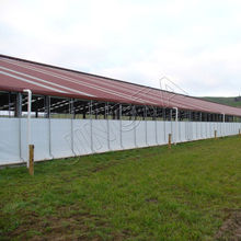 edificio estructura acero La granja En nueva zelanda